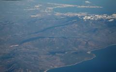 Estrecho de Gibraltar, costa española. (José Rambaud) Tags: facinas tarifa gibraltar campodegibraltar aerea aerial inflight fromabove straitofgibraltar estrechodegibraltar bahíadealgeciras algeciras lalinea sanroque losbarrios