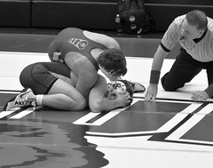 BRO-STA 149 2018-01-13 DSC_8135 s bw (bix02138) Tags: brownuniversity brownbears stanforduniversity stanfordcardinal pizzitolasportscenter pizzitolasportscenterbrownuniversity providenceri january13 2018 wrestling sports intercollegiateathletics athletes jocks ©2018lewisbrianday 149pounds 149 zachkrause jakebarry