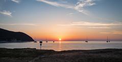 Baratti sunset (LeonardoMazzoni) Tags: baratti tuscany toscana travel sea seascape seashore sunset beach landscape canon