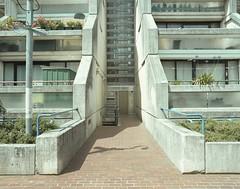 (danny.rowton) Tags: mediumformat architecture pentax6x7 brutalism brutalist c41 analogue analog portra400 120 film socialhousing london concrete thethingswemake