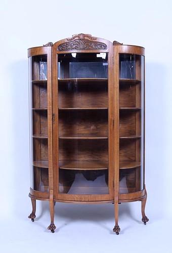 Oak Bowfront China Press ($560.00)