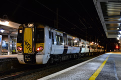 379006 - Ely - 16/01/18. (TRphotography04) Tags: a graffitied greater anglia 379006 stands ely working 1h82 1707 london liverpool street kings lynn