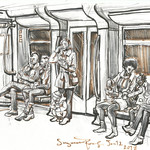 Little guy on the U8 by Suzanne Forbes Jan 12 2018 thumbnail