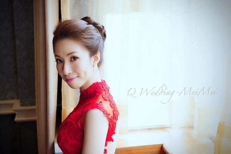 新娘秘書 文定首選造型 紅禮服篇