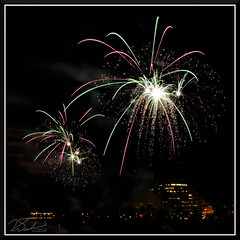 Fireworks_9036 (bjarne.winkler) Tags: 2017 new year firework over sacramento