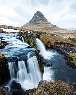 kirkjufellsfoss. iceland. Over the course of 7 day ...