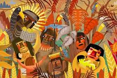 "Pintura ""Descobrindo o Brasil"" (Alegraziani Produto Ilustrado (11) 96175.8787) Tags: indios brasil descobrimento alegraziani arte art artist artwork galeriadearte gallery artebrasileira artistabrasileiro"