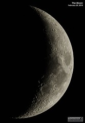 Last Night's Moon - February 20, 2018 (LeisurelyScientist.com) Tags: tomwildoner night sky space outerspace skywatcher telescope esprit 120mm apo refractor celestron cgemdx asi190mc zwo astronomy astronomer science canon crater moon lunar weatherly pennsylvania observatory darksideobservatory leisurelyscientist leisurelyscientistcom tdsobservatory solarsystem february 2018