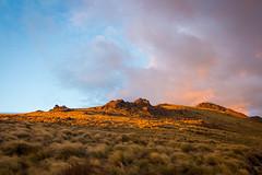 First Light, Kepler Track, Day 2 (Beppie K) Tags: newzealand aotearoa keplertrack mountluxmore sunrise firstlight rocks mountain sky clouds hiking tramping
