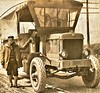 Winther truck at a Naval Training Center 2-2-1919 NARA165-WW-341A-071 (SSAVE w/ over 9 MILLION views THX) Tags: ww1 worldwari sailors usnavy