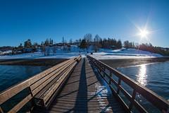 Storsand camping i Malvik (morten.images) Tags: winter snow cold beach shore fjord storsand malvik trøndelag norway trondheimsfjorden visitnorway pentax art