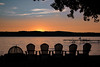 Dusk on Canandaigua Lake (jpetcoff) Tags: sunset warm summer canandaigualake water rochester upstateny new york evening serene beautiful relaxing dusk lake skyline sky clouds tree branch