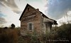 Abandoned Farm House. (K.Yemenjian Photography) Tags: dslr abandoned wooden wood old oldbuilding waynesboroga ga georgia oldstructure oldhouse cloudy clouds building structure dramatic canont5i canon700d canon farm farmhouse abandonedfarmhouse
