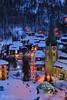Blue hour on snowy Zermatt © Bernard Grua (Photos de voyages, d'expéditions et de reportages) Tags: switzerland winter bernardgrua heurebleue bluehour snow zermatt valais hautvalais wallis oberwallis