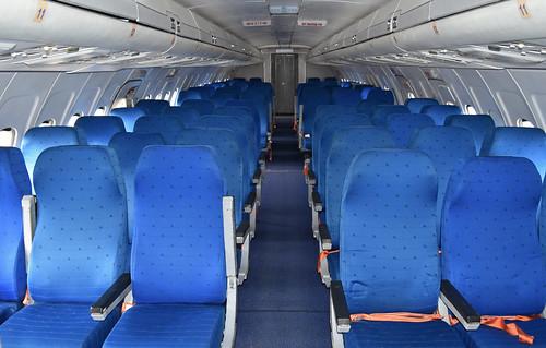 Main cabin of Tu-154M 'RA-85663'