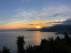 2018 winter on the Riviera [I] (Olivier So) Tags: france frenchriviera riviera sunset sky clouds menton