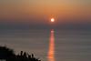 Couché de soleil, Octeville (GL Showa) Tags: couchédesoleil mer soleil ombre normandie octeville