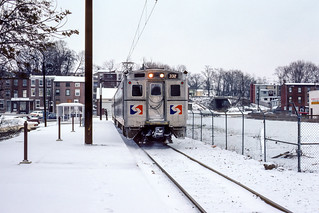 SEPTA; West Chester PA; 12/1983