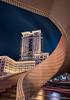 The Peninsula, Hong Kong (Antoni Figueras) Tags: hongkong peninsula kowloon hotel night bluehour building sonya7rii sony1635f4