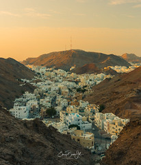 Old muscat sunset (Enricu) Tags: muscat city atmosphere sunset oman