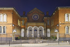 Singers Hill Synagogue, Blucher Street, Birmingham 25/10/2017 (Gary S. Crutchley) Tags: birmingham singers hill synagogue jewish hebrew judaism faith worship israel uk great britain england united kingdom urban city cityscape west midlands westmidlands nikon d800 history heritage local night shot nightshot nightphoto nightphotograph image nightimage nightscape time after dark long exposure evening travel street slow shutter raw