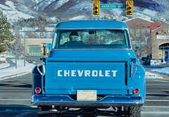 Chevrolet (Karen McQuilkin) Tags: chevrolet truck drivinghome ogden wasatchmountains