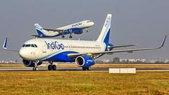 Indigo Airbus A320 VT-IFJ Bangalore (BLR/VOBL) (Aiel) Tags: indigo airbus a320 vtifj bangalore bengaluru canon60d tamron70300vc