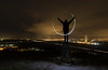 Almost Full Circle (Rob Pitt) Tags: lightpainting tokina 1116 f28 750d helsbyhill cheshire night photography uk england trigg point