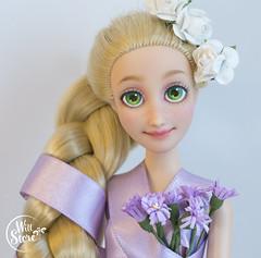 Disney Rapunzel OOAK by WillStore (willka_ann) Tags: rapunzel disney ooak custom doll dolls willstore repaint faceup