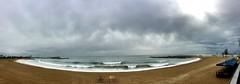 """Mar inspirador"" (atempviatja) Tags: barcelona paseomarítimo paseo playa laguna nubes cielo mar invernal luz color"