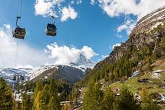 Mountain lifts (Thom O.) Tags: ifttt 500px landscape switzerland nature snow swiss mountain hill zermatt hiking backpack lifts hillside snowy slope peak hiker range snowcapped mountaints