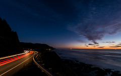 BraysPoint2132018-2 (Ranbo (Randy Baumhover)) Tags: oregon oregoncoast pacificocean stars sunset hwy101