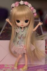 Happy (Bianca Hopkins) Tags: dal doll groove fashion rewigged rechipped obitsu 21cm