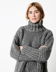 Sonic_Sweater_20(1) (ducksworth2) Tags: knit knitwear jumper sweater thick chunky bulky wool cableknit cables turtleneck