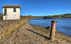 Halton Quay, River Tamar, Cornwall (Baz Richardson (catching up again!)) Tags: cornwall rivertamar haltonquay disusedquays rivers chapels