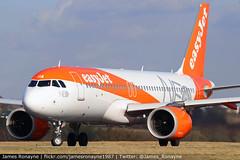 G-UZHA   Airbus A320-251   easyJet (james.ronayne) Tags: aeroplane airplane plane aircraft jet luton ltn eggw canon 80d 100400mm raw