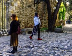 Boa Mistura I (9/365) (Walimai.photo) Tags: lisboa mistura mezcla people gente two 2 robado candid street calle callejero lisbon castelo san jorge lx5 lumix panasonic stone piedra color colour