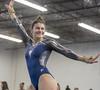 DSC_3135_1 (K.M. Klemencic) Tags: hudson high school gymnastics lady explorers stow bulldogs ohio ohsaa