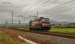 Lis Bari-Lamasinata-Sibari in transito a Massafra (TA) per mantenimento linea (dariooliva84) Tags: gts rail lis treni bombardier leonida locomotive train traxx pdm
