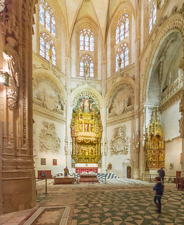Burgos Cathedral, constable chapel. A cathedral inside another cathedral.