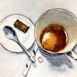 drawings : a short break for coffee. thumbnail