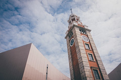 Clock Tower (]vincent[) Tags: hk hong kong china asia people portrait selfie friend vincent keoshi sony rx 100 mk iv tst tsim sha tsui harbour victoria island ifc star boat river pearl ferry kowloon