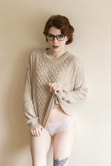 IMG_6051 (Instagram @eye_ofa_panda) Tags: boudoir boudoirshoot boudoirmodel lingerie lingeriemodel modeling tattoo modelswithtattoos modelswithredhair redhair shorthair girlwithshorthair