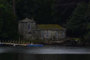 house on derwentwater, Lake District, UK.
