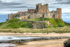 Bamburgh Castle (robin denton) Tags: bamburgh castle northumberland hdr coast seaside