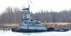 Tug Boat Hudson on Newark Bay (Tombo Pixels) Tags: elizabeth180664 tug boat hudson elizabethwaterfront marciantejacksonmilletpark newarkbay nj newjersey twb1