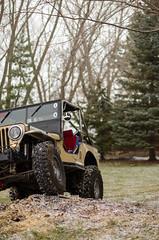 Jeep & Snow -20 (sammycj2a) Tags: willys jeep snow nikon rockcrawler winch factor55 ogden utah