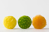 Lemon, Lime, Grapefruit (fingerprints1148) Tags: lemon lime grapefruit yellow orange green macromondays citrus round peel sour three 3