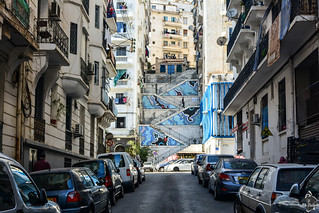 Escaliers de la Rue Docteur Saâdane