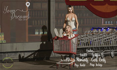 {YD} Moments - Cart Girls (*Your Dreams*) Tags: yourdreams yourposes limit8 props poses 100originalmesh